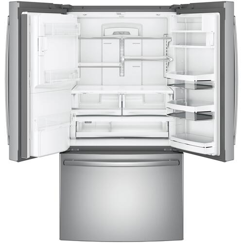 ***REPAIRED UNIT - FULL WARRANTY*** GE Profile™ Series ENERGY STAR® 27.7 Cu. Ft. French-Door Refrigerator with Hands-Free AutoFill