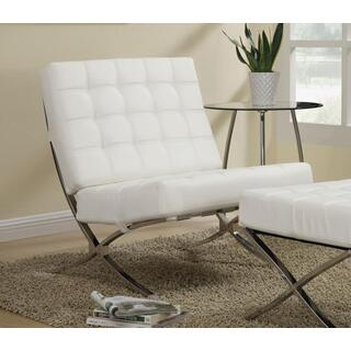 Elliot Accent Chair White