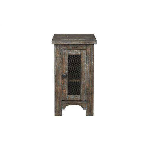 Danell Ridge Chair Side End Table Brown