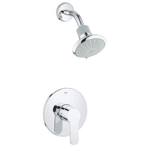 Eurostyle Cosmopolitan Pressure Balance Valve Tub/shower Combo