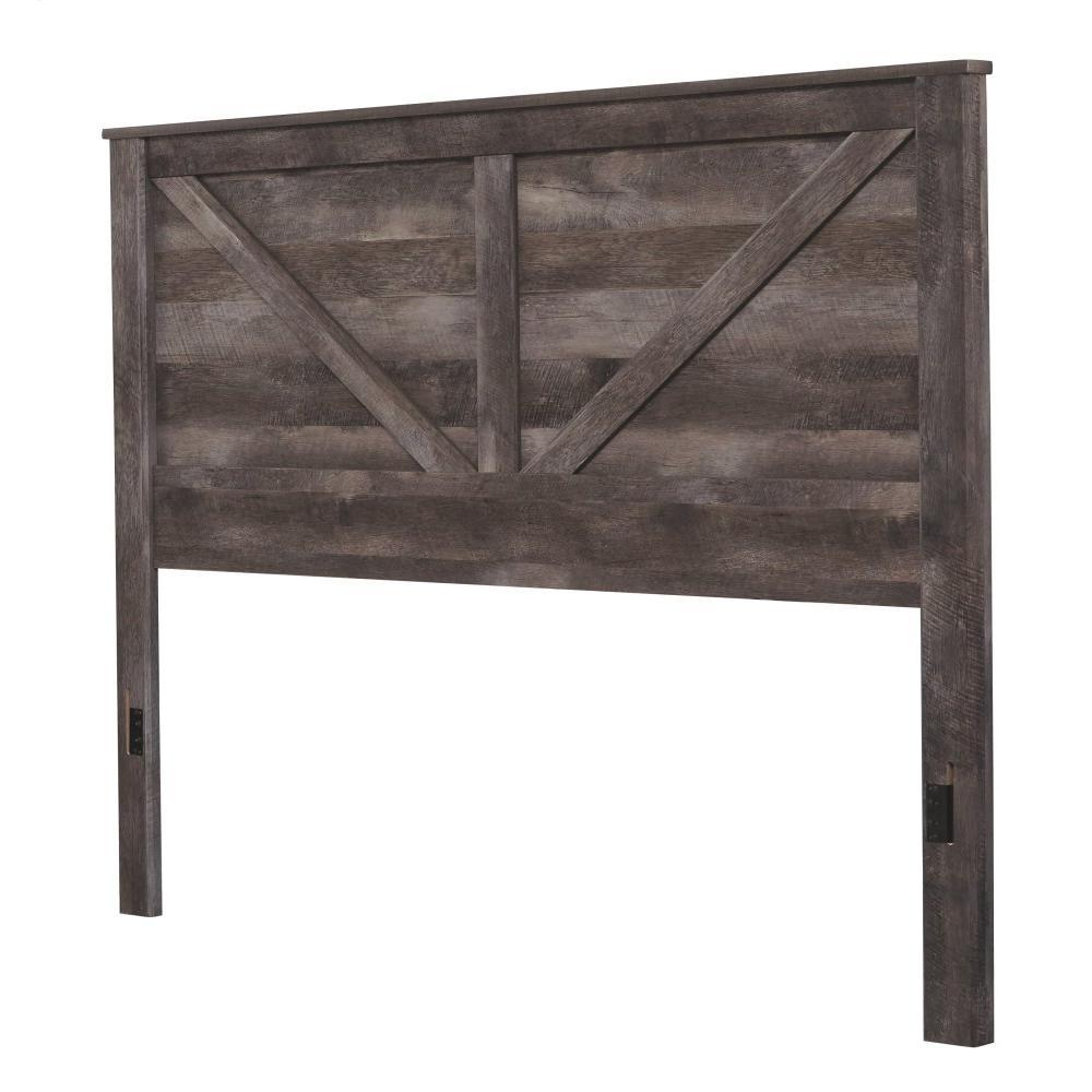 Wynnlow King Crossbuck Panel Bed