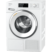 See Details - TXI 680 WP Eco & Steam - T1 Heat-pump tumble dryer with Miele@home and SteamFinish for smart laundry care.