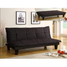 Margo Adjustable Black Futon