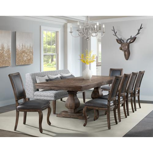 Gramercy Rectangle Standard Height Dining Table