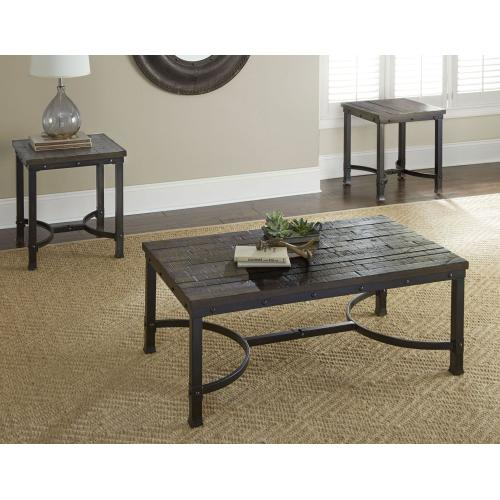 Gallery - Ambrose 3-Piece Set(Cocktail & 2 End Tables)