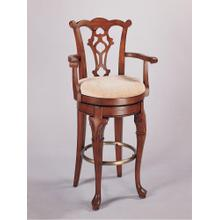 Jamestown Landing Swivel Arm Bar Stool