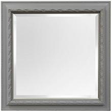 PAINTED FRAMED MIRROR  40ht X 40w  Made in USA