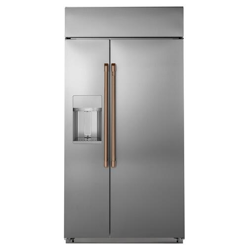 Cafe - Café™ Refrigeration Handle Kit - Brushed Copper
