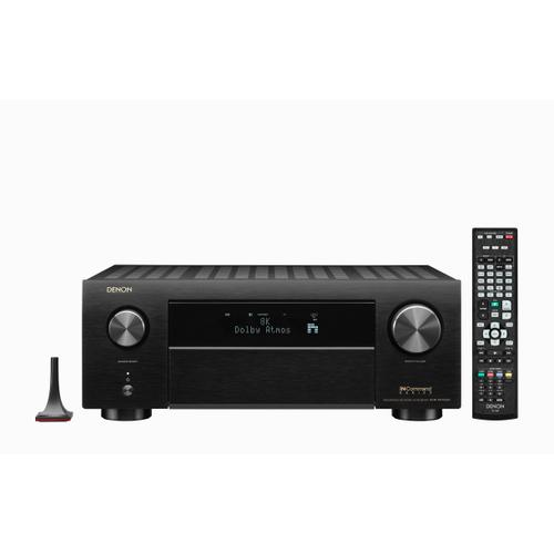 (2020 Model) 9.2 Ch. 8K AV receiver with 3D Audio, HEOS® Built-in and Voice Control