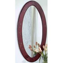 See Details - Oval Mirror