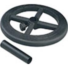 "Stool Kit With Adjustable 19"" Diameter Black Nylon Foot Ring."
