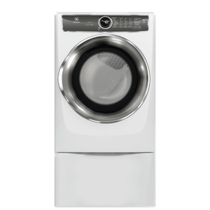 Front Load Perfect Steam™ Gas Dryer with PredictiveDry™ and Instant Refresh - 8.0. Cu. Ft. - WHITE