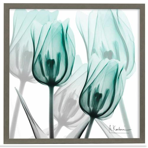 Style Craft - Sky Infused Duo  Made in USA  Artist Print  Faux Wood Frame Under Glass  Attached Hanging Hardwa
