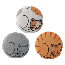 See Details - Round Cat Knit Pillow (3 pc. ppk.)
