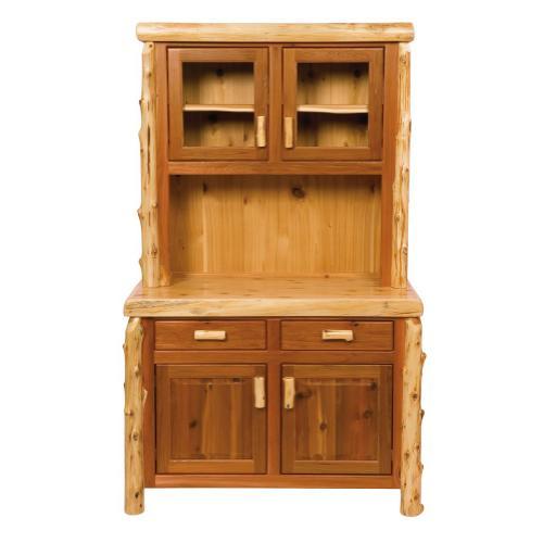 Buffet & Hutch - 48-inch - Natural Cedar