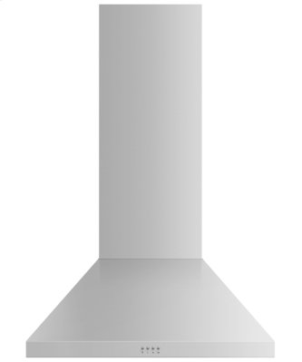 "Wall Range Hood, 30"", Pyramid Chimney"