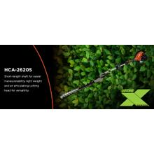 ECHO's HCA-2620S Shafted Articulating Hedge Trimmer