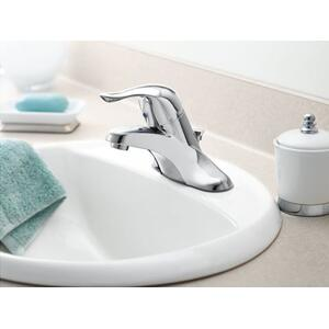 Chateau chrome one-handle bathroom faucet