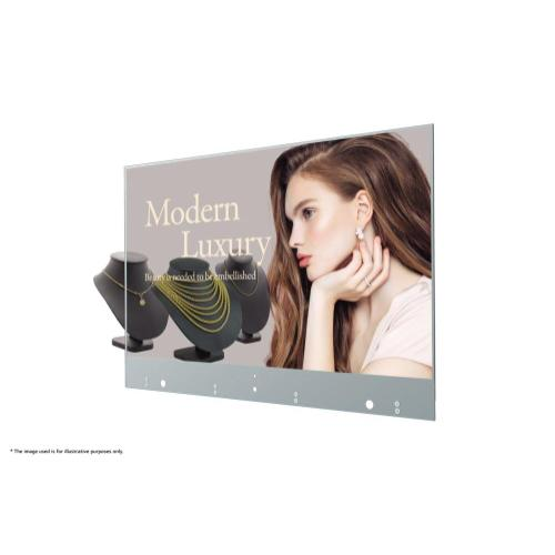 Transparent OLED Digital Signage