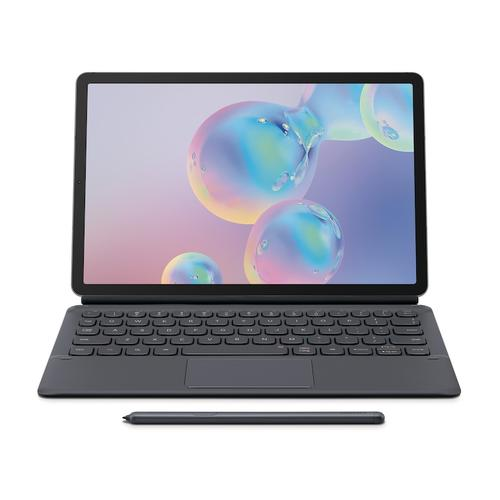 Galaxy Tab S6 Book Cover Keyboard - Gray