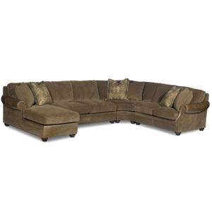 Premier Collection - Warner Leather Sectional