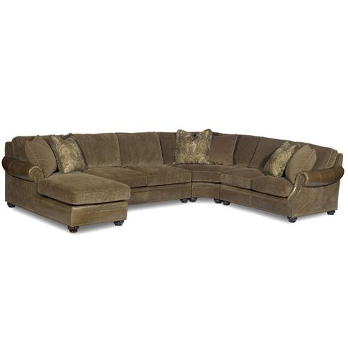 Bradington Young - Premier Collection - Warner Leather Sectional