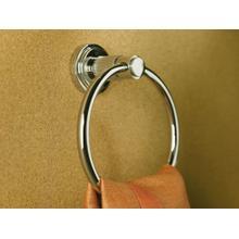 See Details - Towel Ring - Nickel Silver