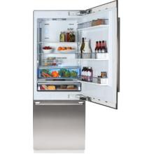 30in Built-in Fridge, Stainless Steel, with ice