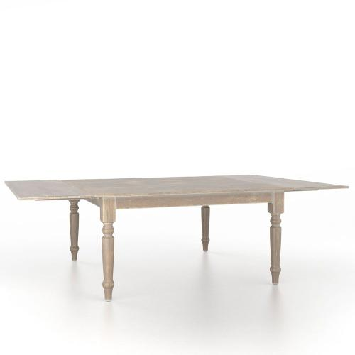 Canadel - Square table with legs