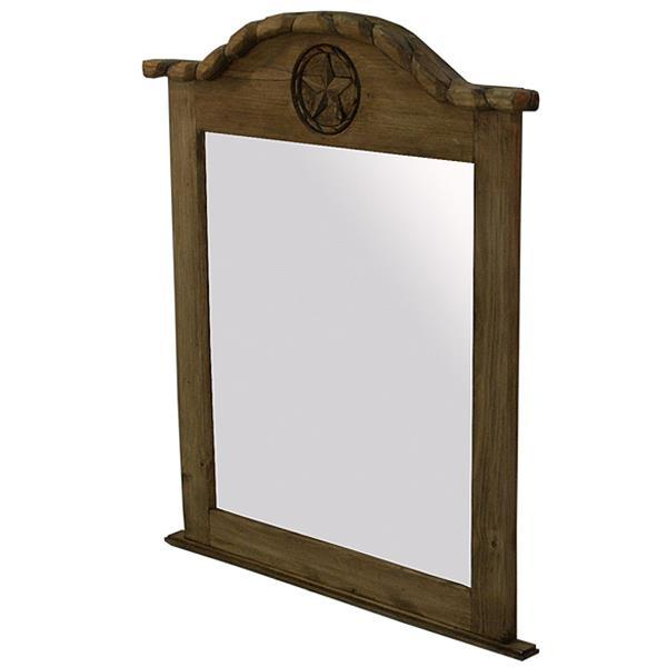 See Details - Mirror W/Rope & Star Medio Finish