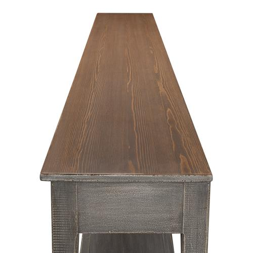 Golden Rim Side Table