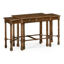 View Product - Chippendale Gothic Nest of Tables