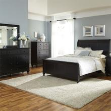 View Product - Queen Sleigh Bed, Dresser & Mirror, Chest