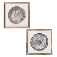 See Details - Framed Wood Slice Wall Decor (2 pc. ppk.)