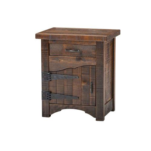 Woodland Park 1 Door 1 Drawer Nightstand - Hinged Left