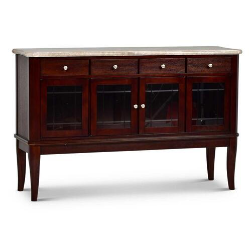 Marseille Marble Top Sideboard
