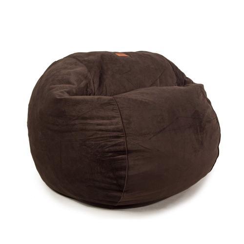 Full Chair - Plush Velour - Coffee