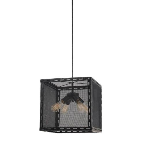 60W X 4 Evanston Metal Chandelier (Edison Bulbs Not included)