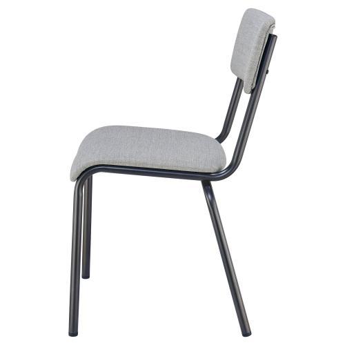 Lehman KD Fabric Chair, Penta Gray