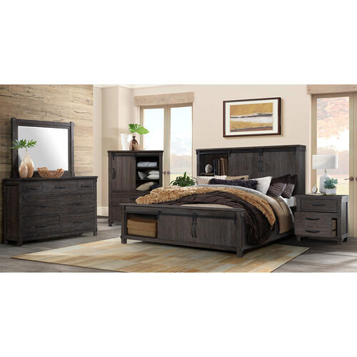 Scott Queen Platform Storage Bed