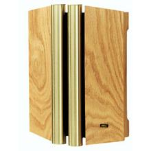 See Details - Natural Oak Finish With Brass