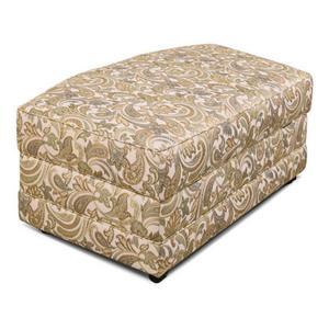 England Furniture5630-81 Brantley Storage Ottoman