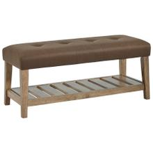 See Details - Cabellero Upholstered Accent Bench