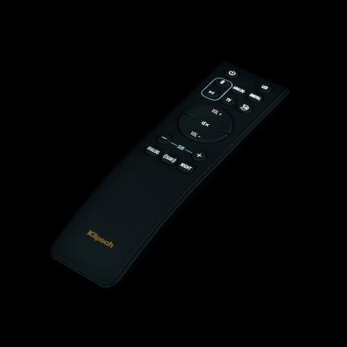 Klipsch - Cinema 1200 Sound Bar Surround Sound System - Black