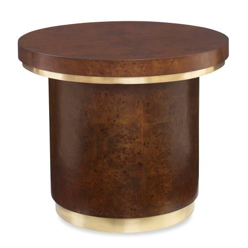 Ambella Home - Burl Round End Table