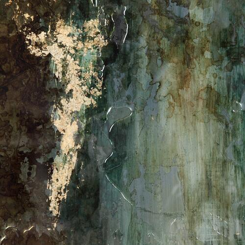 Rustic Patina Grande Framed Print