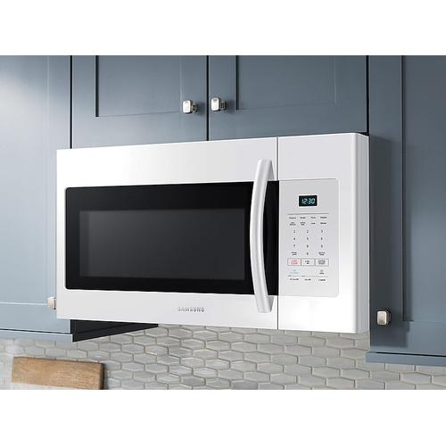 1.6 cu. ft. Over-the-Range Microwave in White