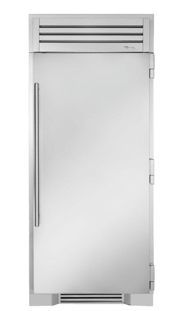 36 Inch Solid Stainless Door Right Hinge Freezer Column