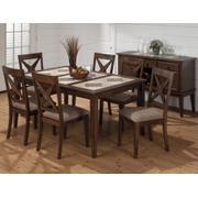 Tuscon Dining Table With Tri-color Tile Top Product Image