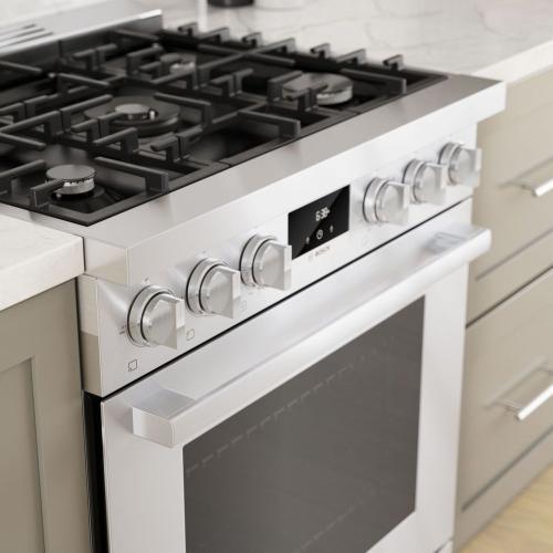 800 Series Gas Freestanding Range 30'' Stainless steel HGS8055UC